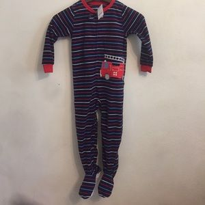 Carters 4t new with tags fire truck sleeper
